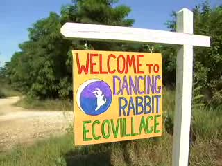 DANCING RABBIT ECO-VILLAGE is a collection of committed individuals and families who purchased land in rural Northern Missouri to create a sustainable community.