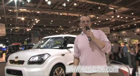 Reporter Chris Smith goes to the British Motor show to find out the future of motoring
