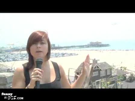 WhipItOutComedy.com takes to the streets of Santa Monica to see if people are concerned about global warming - theyre not