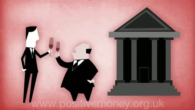 anks make so much money because they can create money, effectively out of nothing, by lending. Every single pound in your bank account was created by a bank, not by your government.  A must see video  debt,crisis,capitalism,banking,recession,bank