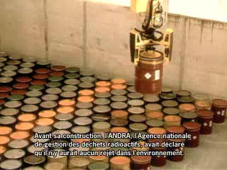 Radioactive waste is leaking into groundwater less than 10 kilometres (6 miles) from the famous Champagne region in France.