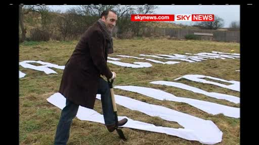 Greenpeace and friends buy land to fight the Heathrow Expansion 