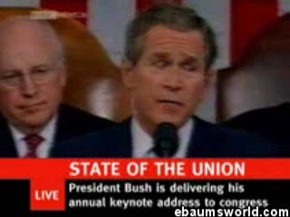 Re edit of the state of the Union address - funny yet so horribly true...
