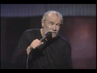 George Carlin gives his views on global warming and extinction of the human race