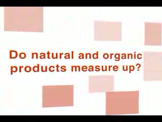 Do natural and organic products really work? The Healthy Shoppers (AKA The Naturally Savvy Guides) put Ecover natural cleaning products to the test. Are they really better for us and the environment?