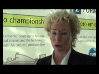 Janice Minton discusses the latest developments in alternative fuel vehicles for motor racing