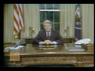 Speech by former US President Jimmy Carter about the energy crisis in 1977