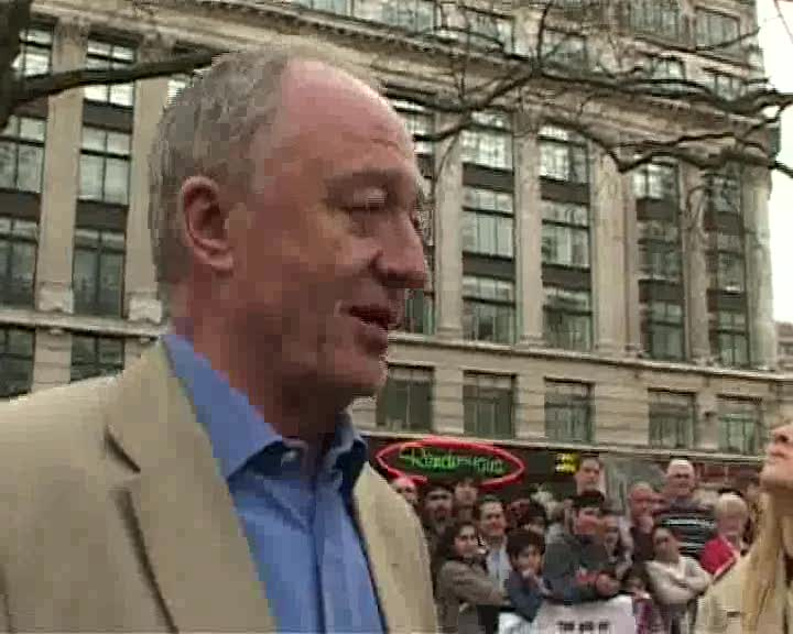 Former London Mayor Ken Livingstone accuses Boris Johnson of being a climate change denier