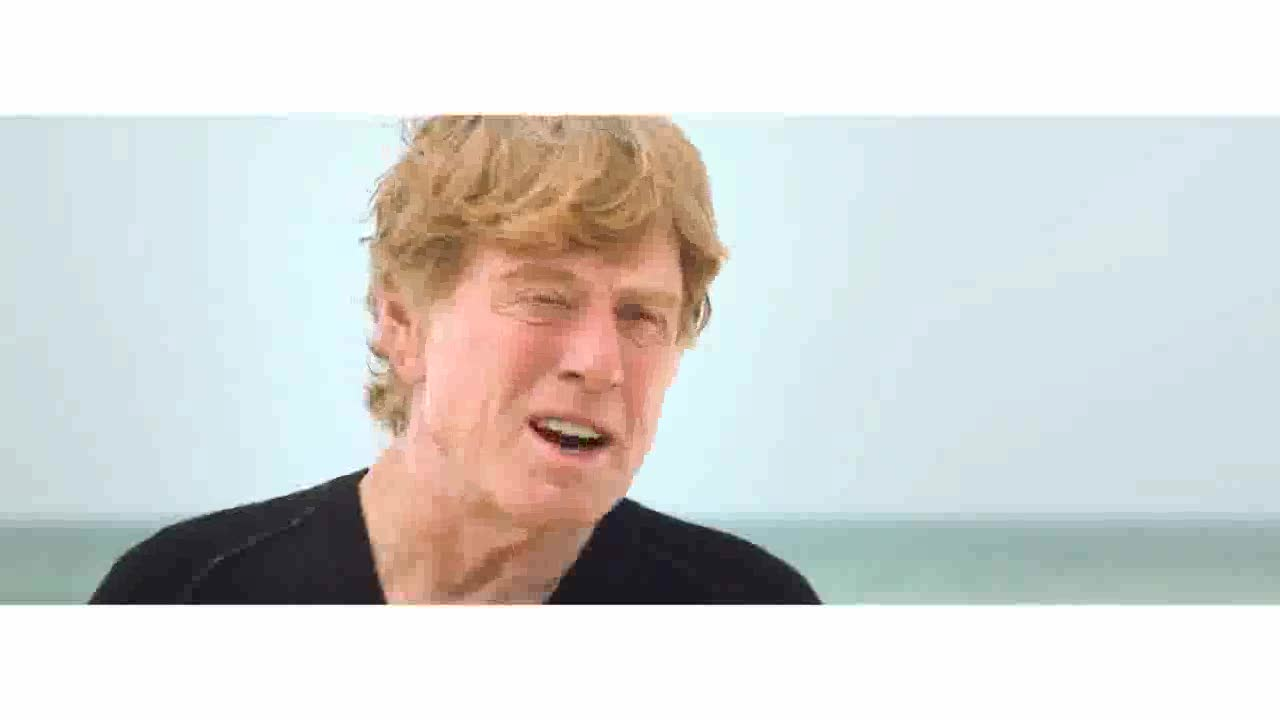 Robert Redford films talking about the oil spill and the need for green energy